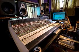Home Studio Mixing Desk by Records Justin Phelps Recording Record Production Recording