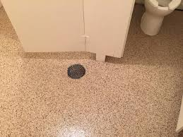 epoxy flake flooring in bathroom in findlay ohio ohio