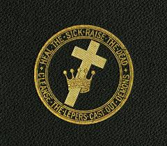 the history of the cross and crown emblem baker eddy library