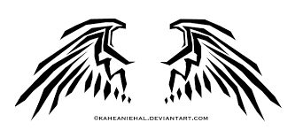 tribal wings by mongrelistic on deviantart