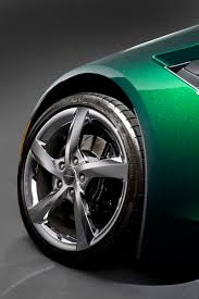 corvette stingray green chevrolet kicks off sales of corvette stingray convertible with