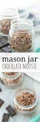 3 ingredient mason jar chocolate mousse recipe easy chocolate