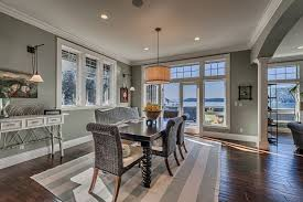 Transitional Dining Rooms Dining Room With Crown Molding U0026 Carpet In Anacortes Wa Zillow