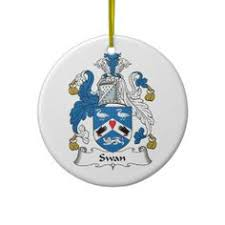 swan coat of arms swan family crest coat of arms family