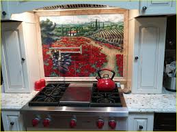 kitchen backsplash tile murals for kitchen tuscan kitchen