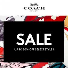 coach up to 50 special sales promo 2017