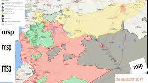 Syria Conflict Map Syria War Map 2017 Every Day Gain And Loss Youtube