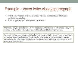 closing a cover letter exle 28 images 5 cover letter closing