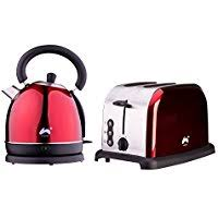 Kettle Toaster Sets Uk Amazon Co Uk Red Kettle U0026 Toaster Sets Small Kitchen
