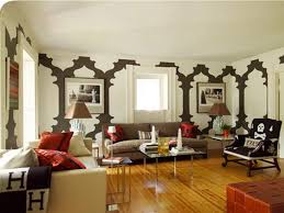 wall decor nice decorating ideas for long living room walls