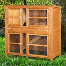 home u0026 roost u2013 4ft chartwell double luxury rabbit hutch