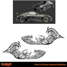 nissan skyline drawing 2 fast 2 furious fast and furious inspired decals 10 hellbound graphics