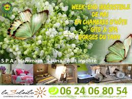 chambre hote spa irresistible may weekend in a guest cottage and spa in the gorges