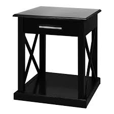 living room amazing concept round end table in black on oak finish