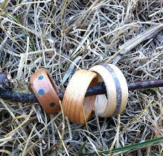 How To Make Inlay Jewelry - bent wood rings 5 steps with pictures