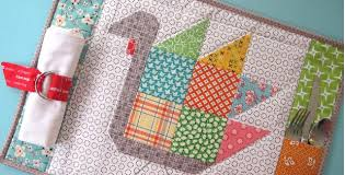 tom turkey quilted placemats aren t just for quilting digest