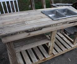 Patio Furniture Out Of Wood Pallets by Garden Wash Basin Out Of Pallets 10 Steps With Pictures