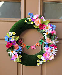 diy spring wreath mommy like whoa