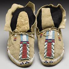 native american moccasins u0026 footwear native american crafts