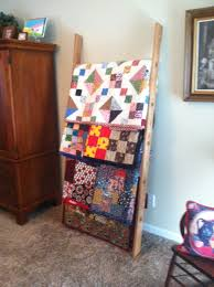 quilt display ladder quilt rackc2a0 best images on pinterest