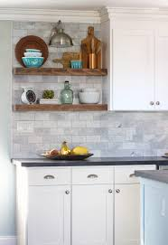 how to do tile backsplash in kitchen how to install floating kitchen shelves a tile backsplash