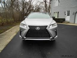 lexus rx 200 test road test review 2016 lexus rx350 f sport awd