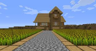 minecraft farmhouse by pastel bombs on deviantart