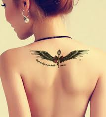 butterfly tattoos on top of infinity symbol meanings