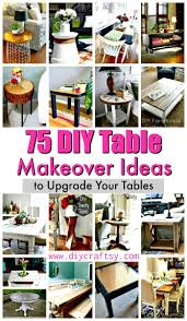 Diy Coffee Table Ideas 75 Diy Table Makeover Ideas To Upgrade Your Tables Diy Crafts