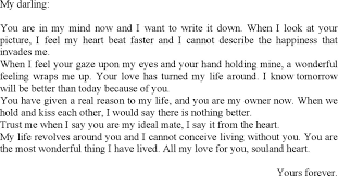 download love letter to boyfriend for free tidyform
