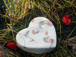 biodegradable urn next memorials biodegradable heart urn for scattering or burial