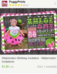 124 best watermelon birthday party images on pinterest