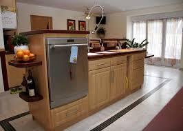 lave cuisine cuisine avec lave vaisselle cheap exemple de cuisine avec ilot