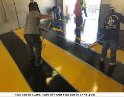 Industrial Concrete Floor Coatings Super Fast Drying Industrial Grade Floor Epoxy