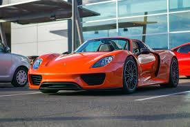 Porsche 918 Orange - orange 918 spyder at cars and coffee scottsdale oc 4200x2800
