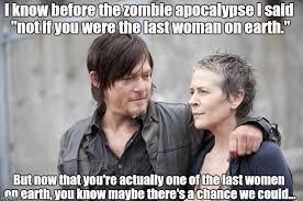 Carol Walking Dead Meme - daryl and carol the walking dead meme generator imgflip