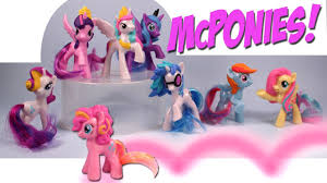 mcdonalds my pony fim happy meal collection toys 2014