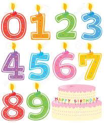 number birthday candles number birthday candles clipart