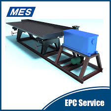 Gravity Table Gravity Concentrating Table Gravity Separation Equipment