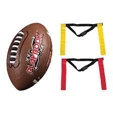 Flag Football Plays 7 On 7 Amazon Com Franklin Sports Mini Playbook Flag Football Set