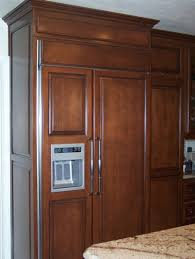 kitchen cabinets refrigerator panels kitchen