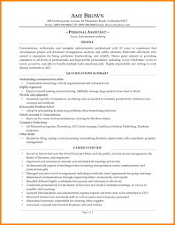 personal resume samples first resume no experience objective