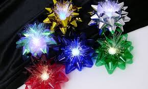 color changing lighted bows groupon goods