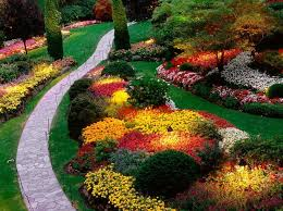 Landscaping Ideas For A Sloped Backyard Landscaping A Sloped Backyard Lights In The Middle Of Plant