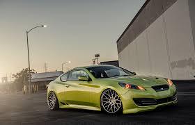 hyundai genesis stance green hyundai stance genesis cars hd 4k wallpapers