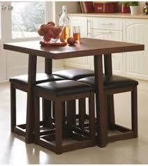 Furniture Excellent Compact Kitchen Table by Get This Amazing Space Saving 4 Seater Dining Table Set Online