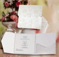 Pocketfold Invitations Pocket Fold Card Ebay