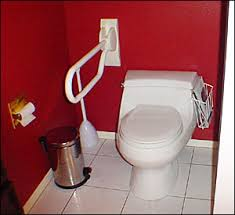 Ada Bathroom Handrails Fold Down Grab Bar With Optional Toilet Paper Holder