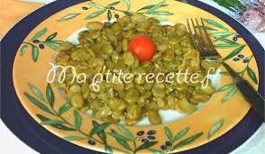 cuisiner des f钁es fraiches fèves fraîches recette accompagnement fève