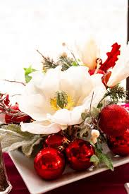 apartments beautiful diy flower christmas ornament ideas with red